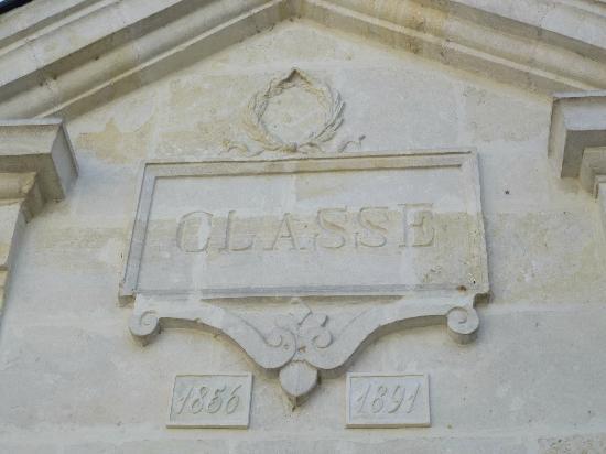 Hotel de Biencourt: l'ancienne école vue du patio