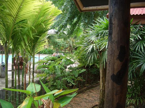Green View Village Resort: Vanuit het raam