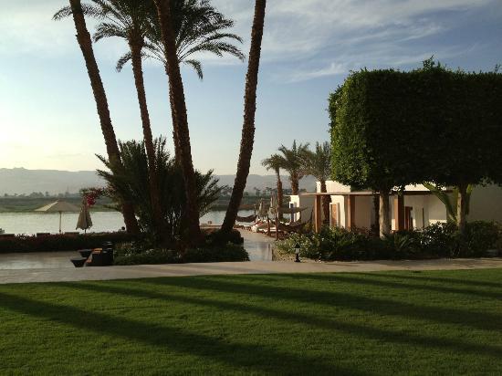 Hilton Luxor Resort & Spa: Behind Spa