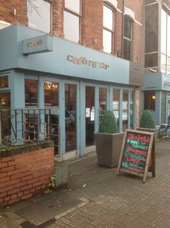 Café Renoir: outside cafe renoir
