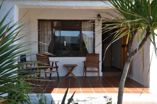 Saxon Lodge: Private view veranda Southern Cross