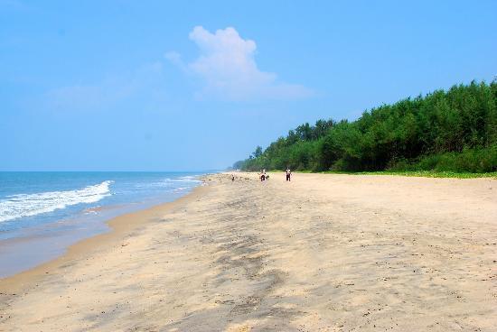 The Nattika Beach Resort: beach