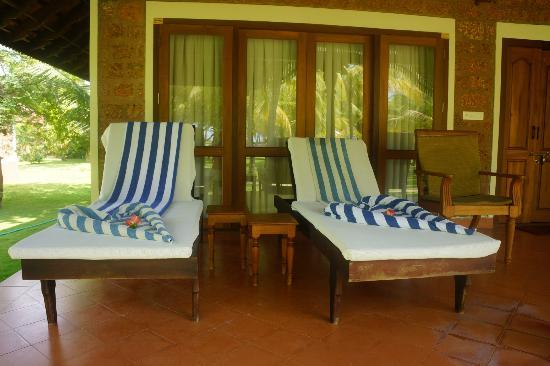 The Nattika Beach Resort: our veranda