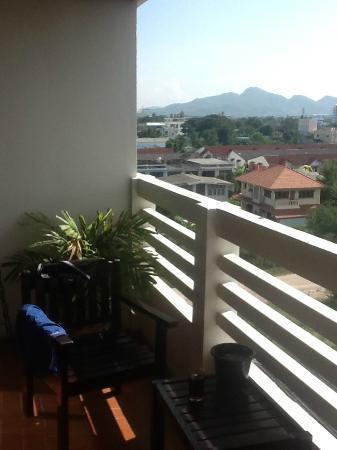 Huahin Loft Hotel: Balcony