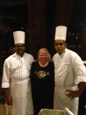 Hotel Sigiriya: echt een hele goede keuken
