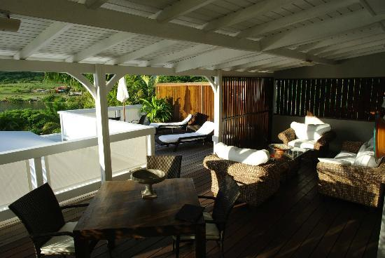 Sol e Luna Guest House : Jasmine - Covered / Open Veranda