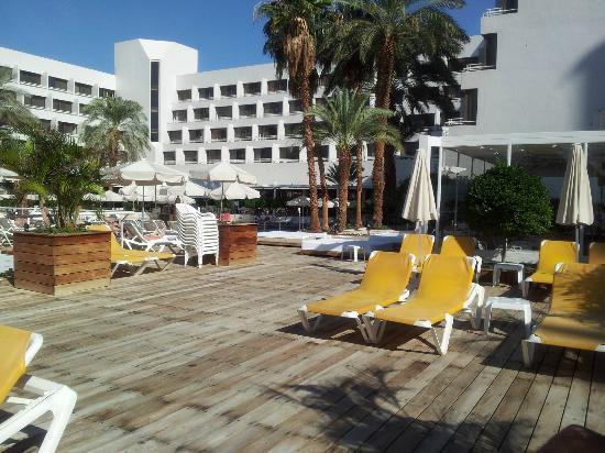 Isrotel Lagoona: Вид на отель