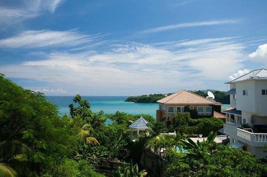 Jamaica Ocean View Villa: View of Ocean from the villa