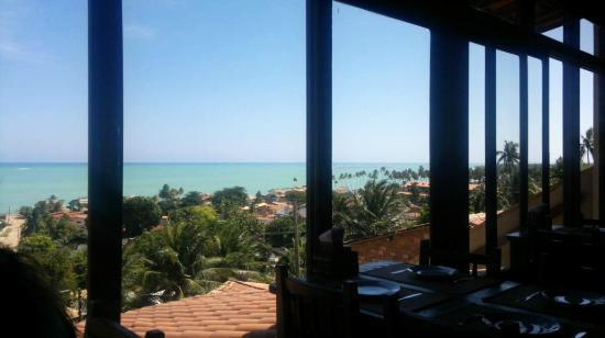 Vila Chamusca Arte e Gastronomia: The view from the restaurant , breathtaking.