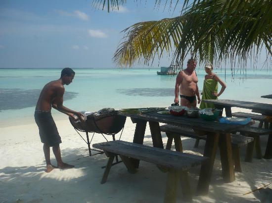 Stingray Beach Inn: остров-пикник