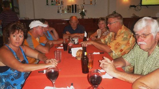 El Quijote Bar and Restaurant: A gaggle of gringos