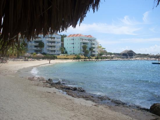 Blue Bay Curacao Golf & Beach Resort: Der Strand war selten voll