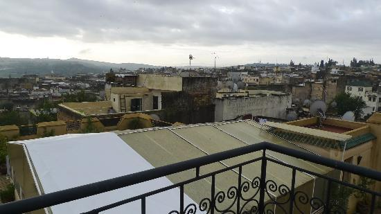 Riad Ahlam: View from the rooftop