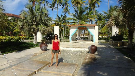 Now Larimar Punta Cana Water Fountain And An Altar Looking Place Seems Like
