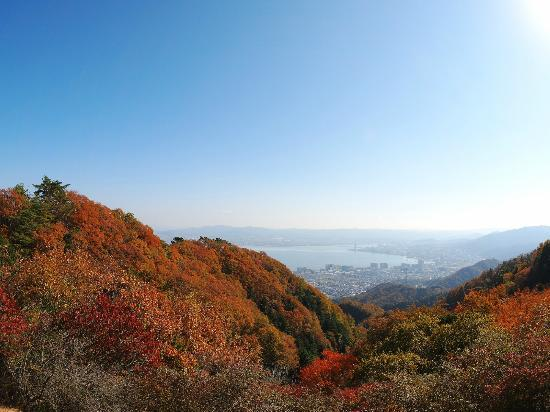 Hieizan Driveway: 夢見が丘から琵琶湖を眺める