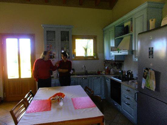 B&B Al Tramonto: sala colazioni Angelo e Silvia