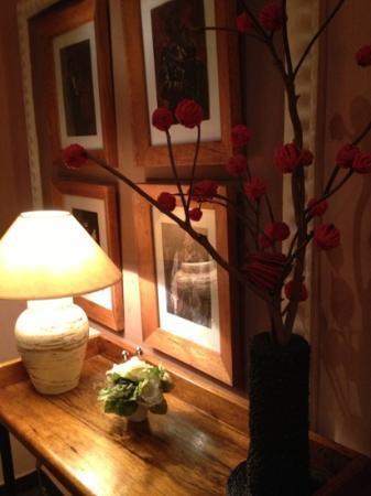 Restaurant Le Loft: the corner