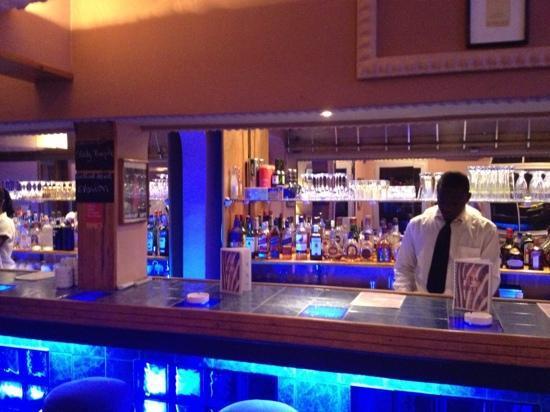 Restaurant Le Loft: the bar