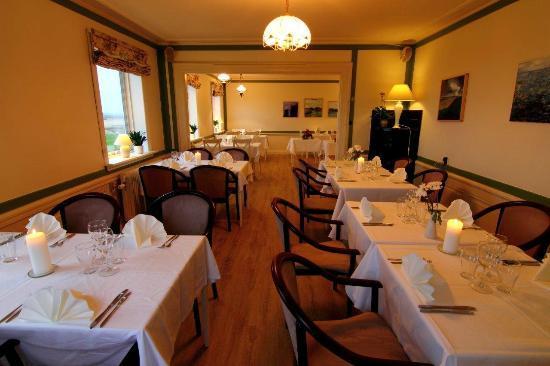Sanden Bjerggaard Hotel & Kursuscenter: Restaurant Havblik