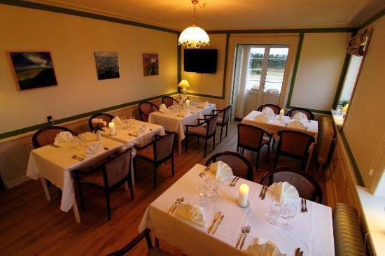 Sanden Bjerggaard Hotel & Kursuscenter: Resaturant Havblik