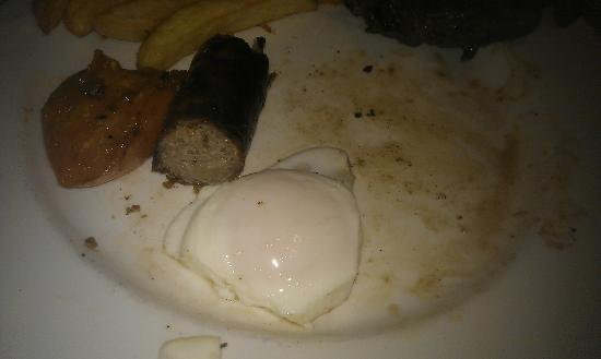 Premier Inn Bishop Auckland Hotel: Well done and rather nasty black grease