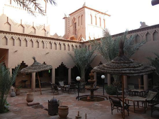 Terrasse espace KAsbah Amridil