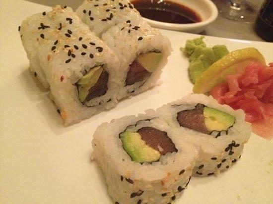 sushis at koi: fashion sandwitch