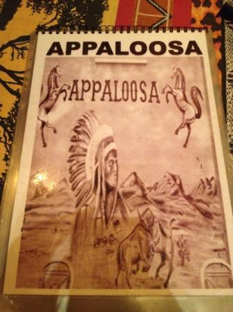 Appaloosa Restaurant: a lot of food choice