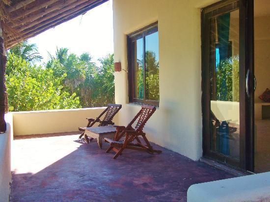 Mestizo Hotel Boutique: First terrace