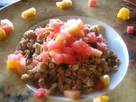 Morgan's Rock Hacienda and Ecolodge: Morning granola