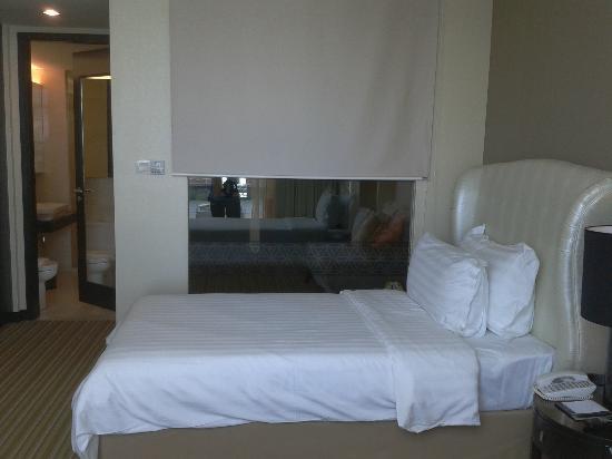 Hatten Hotel Melaka: Spacious sleeping area