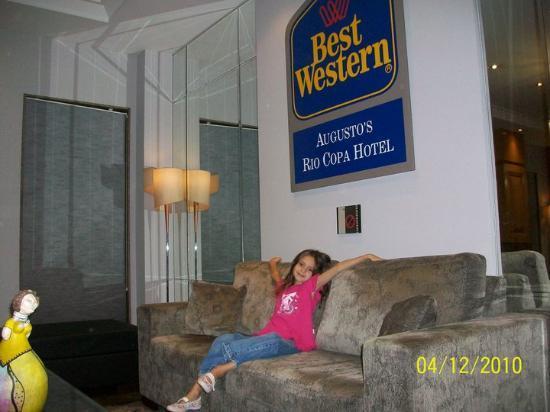 Augusto's Rio Copa Hotel: lobby