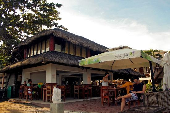 San Juan Surf Resort: the restaurant