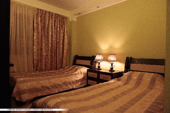 Guest House Bujtina Leon: Twin bed