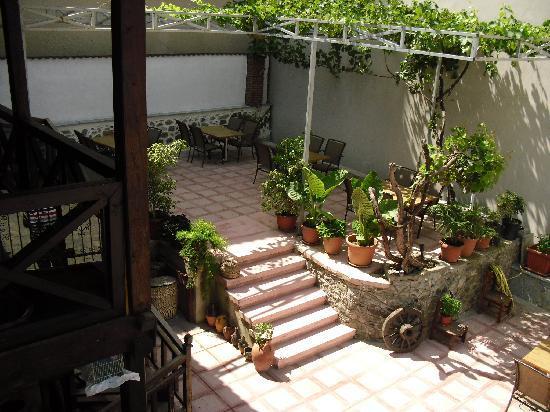 Guest House Bujtina Leon: Garden
