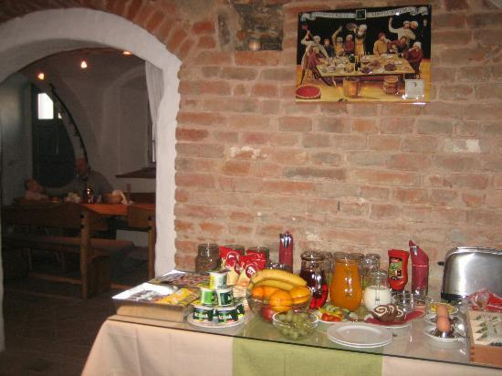 Pension Athanor: Breakfast Room