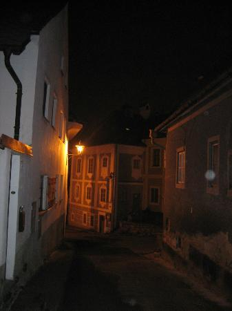 Pension Athanor: Exterior by Night