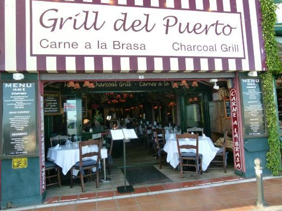 Grill del Puerto: That says it all!