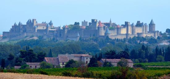 Sainte-Helene Chambres d'Hotes: La Cité, Carcassonne, 35 minutes away