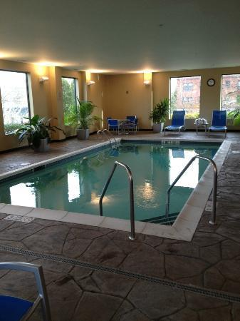 TownePlace Suites Albany Downtown / Medical Center: Pool -- indoor, necessary in chilly Albany