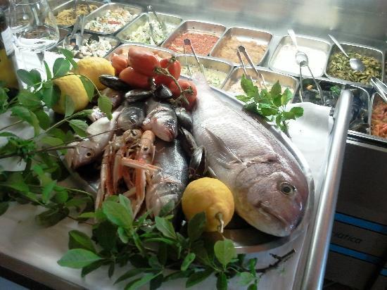 Ristorante Pizzeria Vecchia Posta: La pescata giornaliera