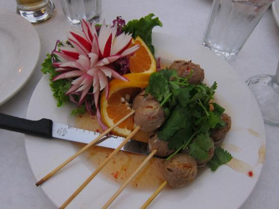 Saladang Song: Meat balls - yum!