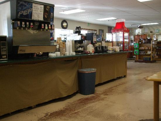 جراند ستايركايس إن: Breakfast area