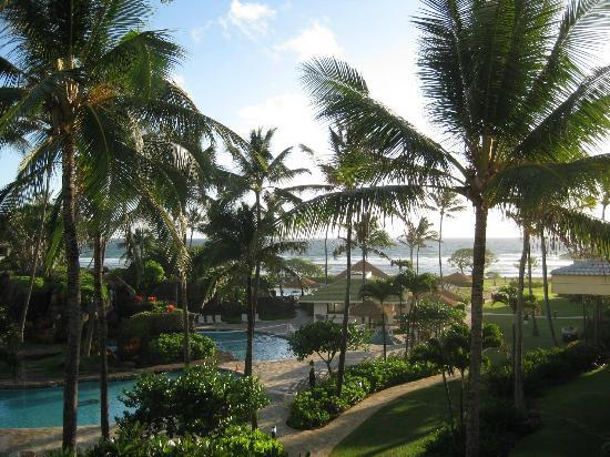 Kauai Beach Resort: View from my room - bldg 2