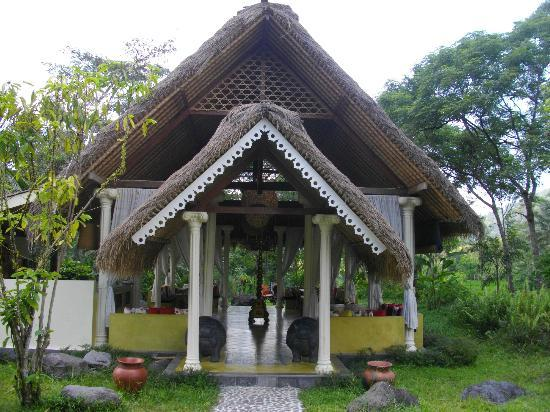 Darmada Eco Resort : The restaurant of Darmada (Sidemen)(Bali)