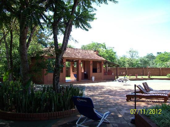 Marcopolo Suites Iguazu: Patio