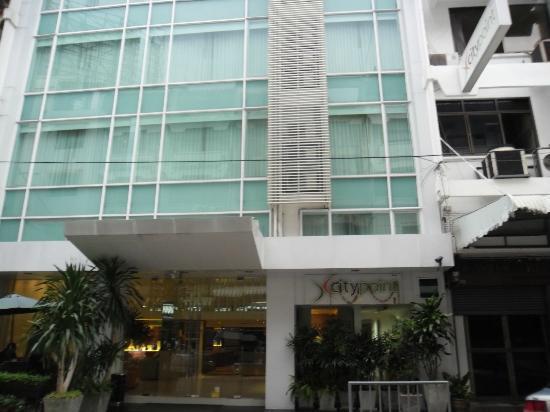 CityPoint Hotel: Facciata