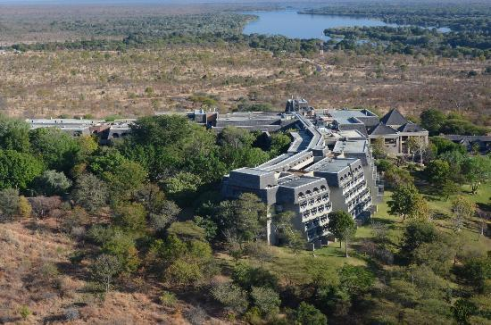 Elephant Hills Resort: Helicopter view