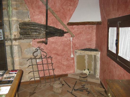 Casa Rural La Carreteria: zona de recepción