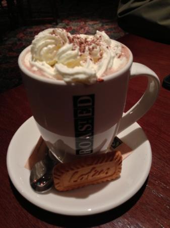 The Mad Bishop & Bear: yummy hot chocolate